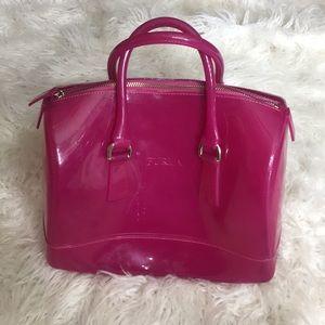 Handbags - Pink jelly candy bag